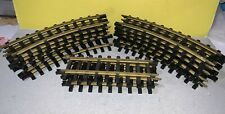 New Bright Holiday Express 12 Curves & 4 STRAIGHT 380 Only TRACKS Complete Set