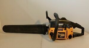 "Poulan Pro 46cc Chainsaw (PP4620AVX) w/ 20"" Bar/Chain & Black Protective Cover"