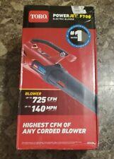 New listing Toro 51624 Electric Handheld Leaf Blower brand new/damaged box