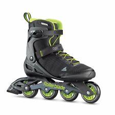 Rollerblade Zetrablade Elite Mens Fitness Inline Skates, Size 10, Black and Lime