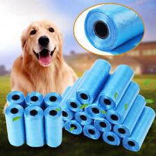 400Pcs Dog Poo Bag Pet Cat Waste Poop Clean Pick Up Biodegradable Bag