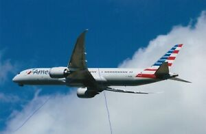 AMERCIAN A/LINES PLANE PHOTO CIVIL AIRCRAFT BOEING 787 PICTURE N821AN PHOTOGRAPH