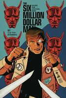 Six Million Dollar Man #1 Francavilla Variant Dynamite Comic 1st Print 2019 NM