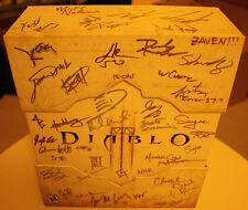 Diablo 3 Collectors Edition Firmado Autografiado Nuevo