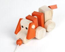 ? Ziehtier Hund - Nachziehtier Ziehhund Holz für Kind Kleinkind Spielzeug NEU ?