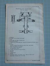 1911 matelotage Print ~ Harfield's Cabestan 1 1/2 Câble Baril Broche Appareil