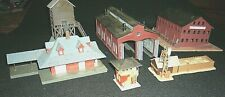 N-scale buildings Bachman and unbranded (lot of 6)