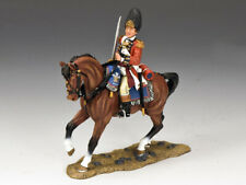 KING & COUNTRY BRITISH REVOLUTIONARY BR090 MOUNTED FUSILIER OFFICER MIB
