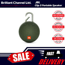 Harman JBL Clip 3 portable bluetooth waterproof speaker - Green
