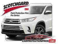 2018 Toyota Highlander 3M Scotchgard PRO Clear Bra Paint Protection Standard Kit