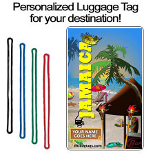Personalized Travel Tag - Jamaica