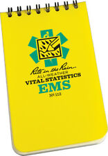 "Rite in the Rain EMS Vital Stats 50 Sheets 3"" x 5"""