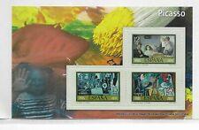 España Pintura Picasso Hoja Recuerdo de Serie de año 1978 (ET-109)