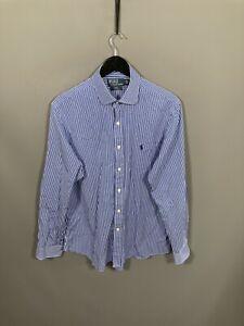 RALPH LAUREN Shirt - Size 16.5 - Striped - Good Condition - Men's