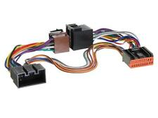 CONECTOR DOBLE ISO JAGUAR X-TYPE S-TYPE XJR XJ8 PARROT ADAPTOR TELEMUTE LEAD