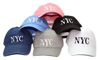 New York City NYC Adjustable Cotton Novelty Cap Dad Hat by KB Ethos