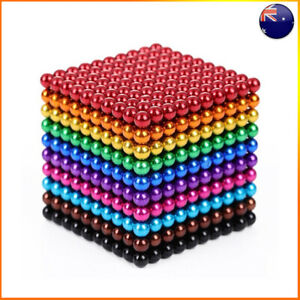 Magnets Magic Balls 1000 Beads 3/5mm Puzzle Ball Sphere Magnetic Toys Colorful