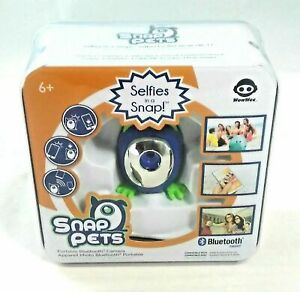 Snap Pets - Selfies in a Snap! Portable Bluetooth Camera (WowWee) Blue Cat