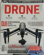 Drone Magazine UK Jan 2017 DJI Inspire 2 Phantom 4 Pro Reviews FREE SHIPPING sb