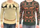 UGLY Christmas Sweater-Tacky Holiday Party Fun-Ugliest Sweater-Unisex Size S-XXL