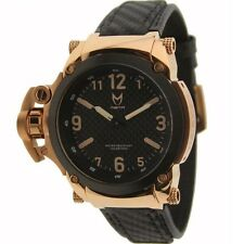 $400 Meister Premium Commander With Carbon Fiber Band Watch rose gold