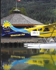 WHISTLER AIR VANCOVER B.C 4 PAGE HARBORS ARTICLE TURBO OTTER & BEAVERS S.KELLEY