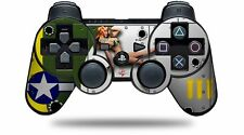 Skin for PS3 Controller WWII Bomber War Plane Pin Up Girl CONTROLLER NOT INCL