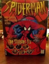 Spiderman The Sinister Six Computer pc cd-rom Video Game New Nib Sealed Rare...