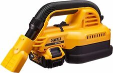 New DeWalt 20V MAX 1/2 Gallon Wet and Dry Portable Vacuum Kit DCV517M1