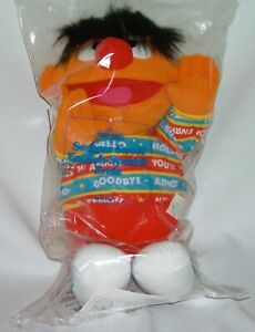 "Vintage Tyco Sesame Street Bilingual Ernie Talking English/Spanish16"" Plush Doll"