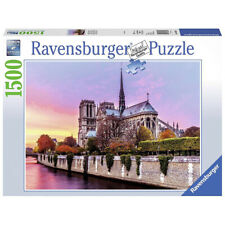 Ravensburger Picturesque Notre Dame High Quality 1500 Piece Jigsaw Puzzle- 16345