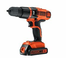 Black et Decker 18 V Sans Fil Combi Marteau Perforateur 2-Gear Speed Li-On Full Kit