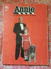 ANNIE - THE STORYBOOK BASED ON THE MOVIE - VINTAGE 1982 - SOFTCOVER