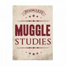 Harry Potter Muggle Studies Small Tin Sign