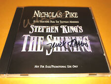 THE SHINING (mini-series) SIGNED soundtrack CD by NICHOLAS PIKE & MICK GARRIS