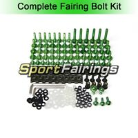 Screws Bolt Kit Clips For Kawasaki ZX-9R 94 - 03 94 95 96 97 98 99 00 01 02 03