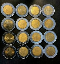 OLD ITALY COIN LOT - 500 LIRE - 16 AU/UNC Coins - Lot #O22