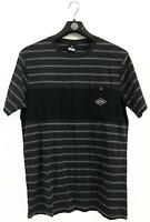 Rip Curl PIVOT TEE Mens Crew Neck Short Sleeve Cotton T Shirts New - Black Marle
