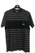 Rip Curl PIVOT TEE Mens Crew Neck Short Sleeve Cotton T Shirts New - Black Marle