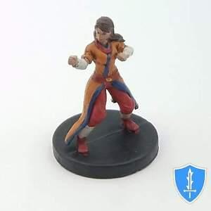 Human Monk - Monster Menagerie 2 #10 D&D Miniature