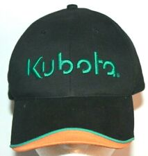 Kubota Tractor Construction Equipment Orange Green Vintage hat cap Ships Boxed