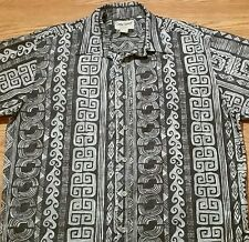 Cooke Street Hawaiian Styled Button Shirt (Large) Brown Color, Different Designs