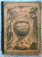 1868 Intro to the Manual of Geography Nat'l Geographical Ser # 2 Monteith RARE