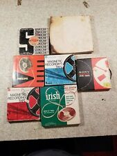 Lot of 7 reel to reel tapes.