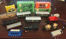 Vintage Marklin H.O. Train Set 3029 Locomotive, Track, Box Cars MORE