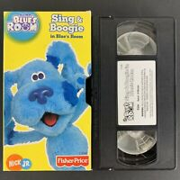 Blues Clues - Blues Room - Sing & Boogie In Blues Room - Nick Jr.  VHS