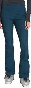 $160 TNF THE NORTH FACE Teal Apex Snoga Slim Fit Snow Ski Pants Softshell 8/Reg