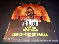 LES CHIENS DE PAILLE  sam peckinpah d hoffman  affiche cinema 1974