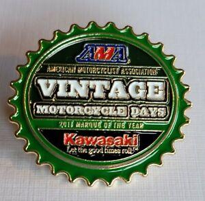 AMA Vintage Motorcycle Days Pin 2011