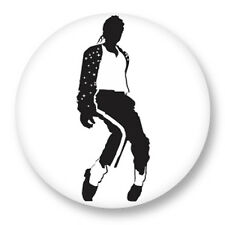 Pin Button Badge Ø38mm Michael Joseph Jackson King of Pop MJ Bad Disco Funk